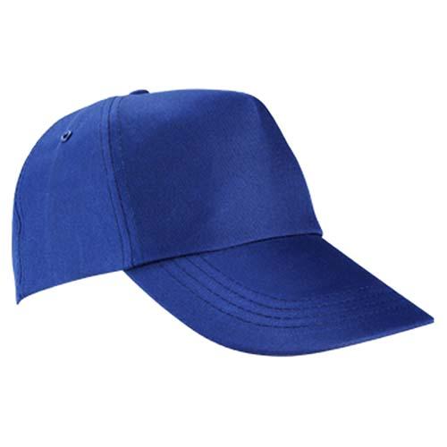 GEP 003 A gorra de algodon color azul rey 5