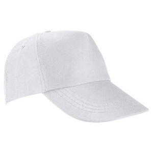 GEP 003 B gorra de algodon color blanco
