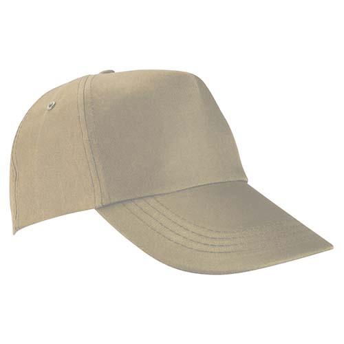 GEP 003 K gorra de algodon color kaki 3