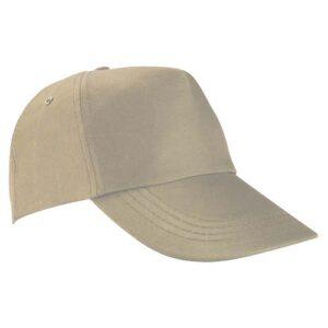 GEP 003 K gorra de algodon color kaki