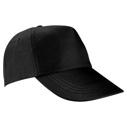 GEP 003 N gorra de algodon color negro 3