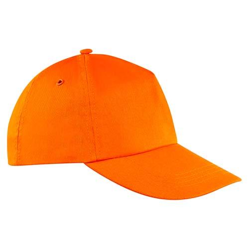 GEP 003 O gorra de algodon color naranja 1