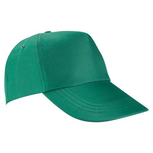GEP 003 V gorra de algodon color verde 1