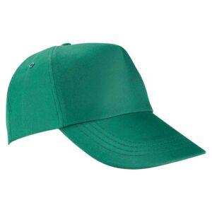 GEP 003 V gorra de algodon color verde