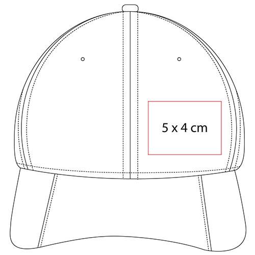 GEP 006 R gorra avadi color rojo 2