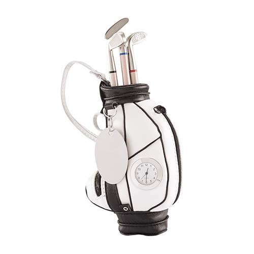 GLF 01 reloj y portaplumas golf 1