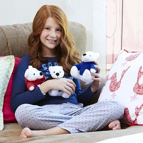 GM 040 A oso teddy bear color azul 2