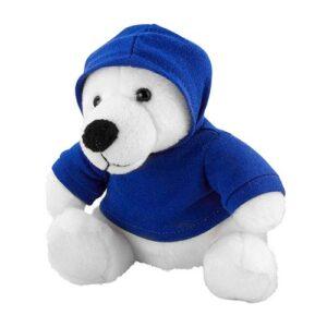 GM 040 A oso teddy bear color azul