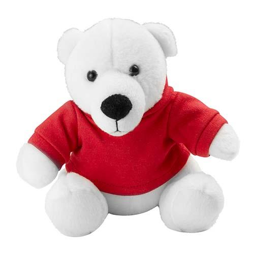 GM 040 R oso teddy bear color rojo 4