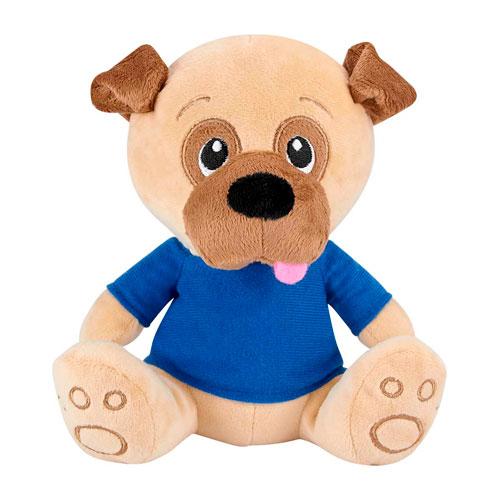 GM 041 A perro de peluche pankgal color azul 1