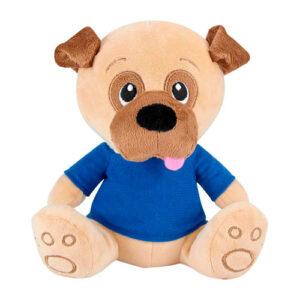 GM 041 A perro de peluche pankgal color azul