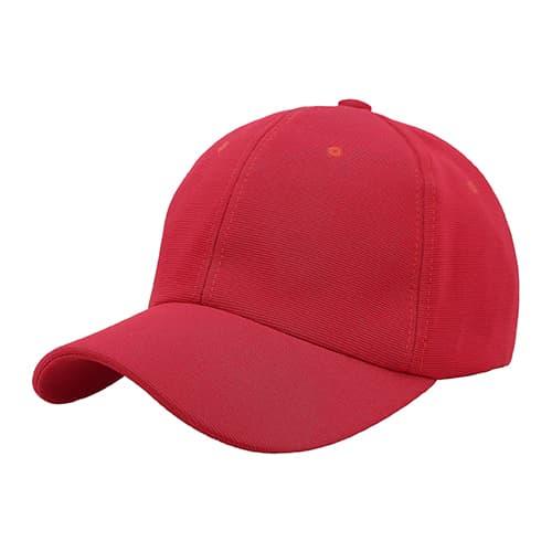 Gorra de poliéster con cinta ajustable-3