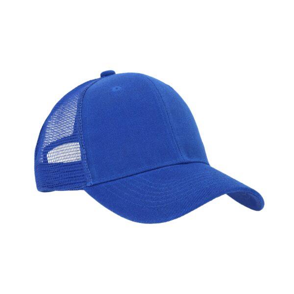 Gorra de poliéster con malla en la parte-2