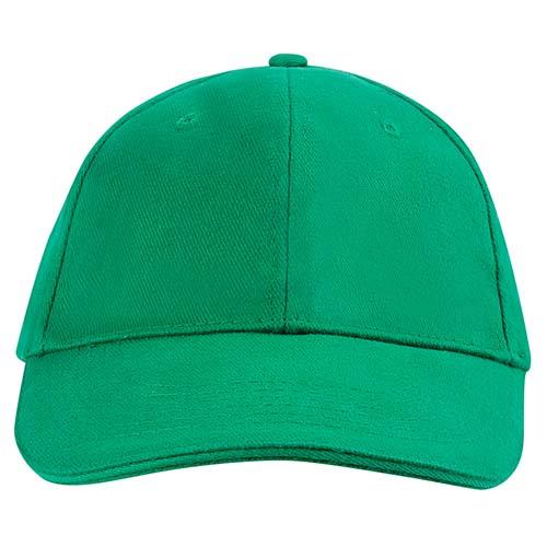 GSP 002 V gorra sandwich color verde 2