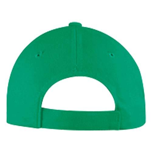 GSP 002 V gorra sandwich color verde 3
