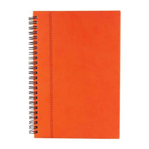 HL 010 O libreta alesa color naranja