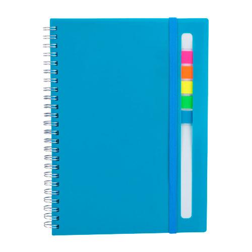 HL 012 A libreta abdala color azul