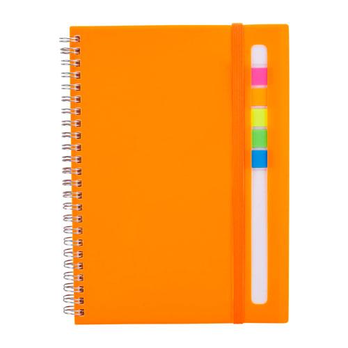 HL 012 O libreta abdala color naranja