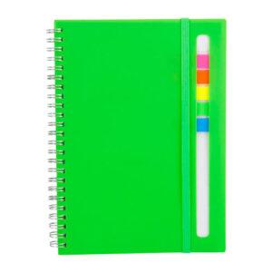 HL 012 V libreta abdala color verde