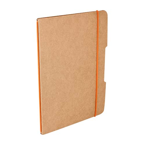 HL 015 O libreta barron color naranja
