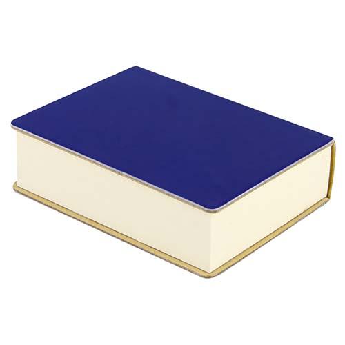 HL 040 A porta notas eria color azul 3