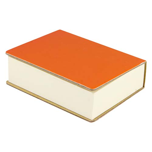 HL 040 O porta notas eria color naranja 3