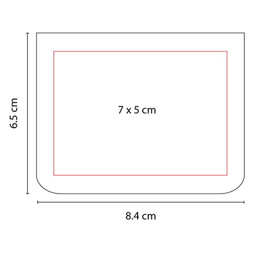 HL 040 R porta notas eria color rojo 2