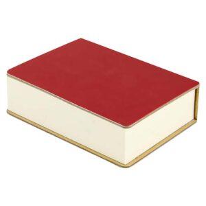 HL 040 R porta notas eria color rojo