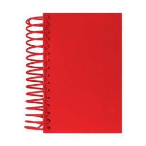 HL 1300 R libreta wendel color rojo