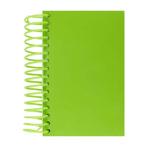 HL 1300 V libreta wendel color verde 1