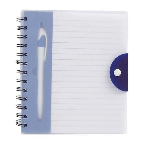 HL 1400 A libreta breka color azul translucido 1