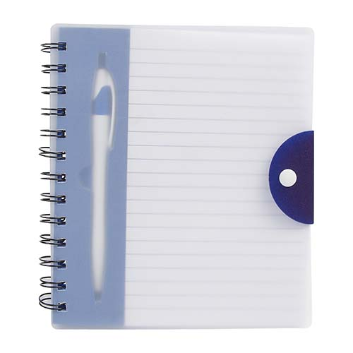 HL 1400 A libreta breka color azul translucido 3