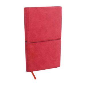 HL 1650 R libreta valanti color rojo