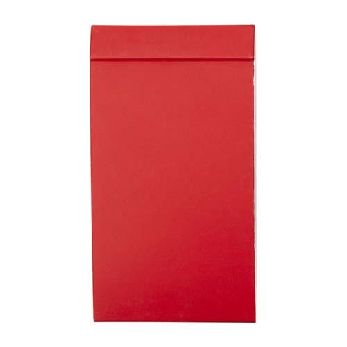 HL 1700 R libreta tadia color rojo 3
