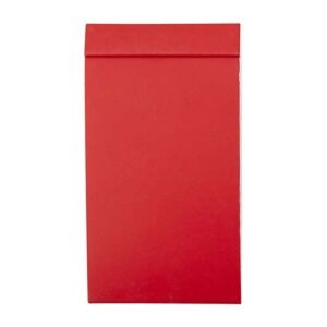 HL 1700 R libreta tadia color rojo