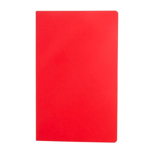 HL 185 R libreta lutsk color rojo 4