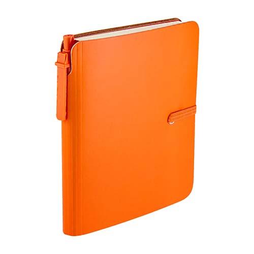 HL 190 O libreta toba color naranja 1