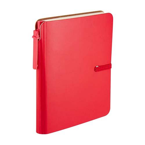 HL 190 R libreta toba color rojo 3