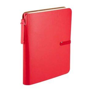 HL 190 R libreta toba color rojo