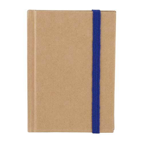 HL 2012 A libreta eco paper color azul 1