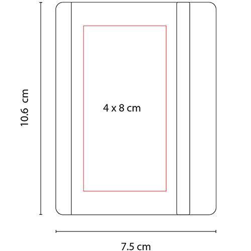 HL 2012 R libreta eco paper color rojo 3