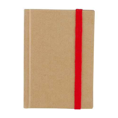 HL 2012 R libreta eco paper color rojo 4