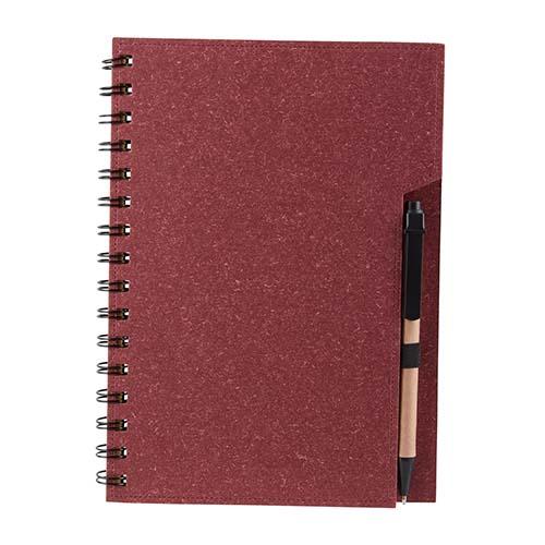 HL 2040 R libreta antlia color rojo 4