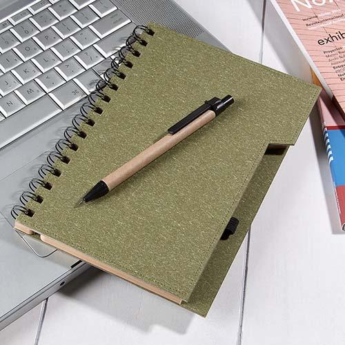 HL 2040 V libreta antlia color verde