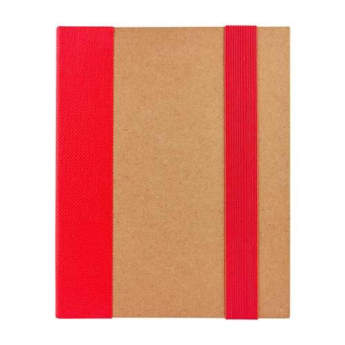 HL 2050 R libreta ridge color rojo 1