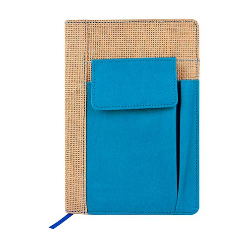 HL 2070 A libreta seliger en color azul 3