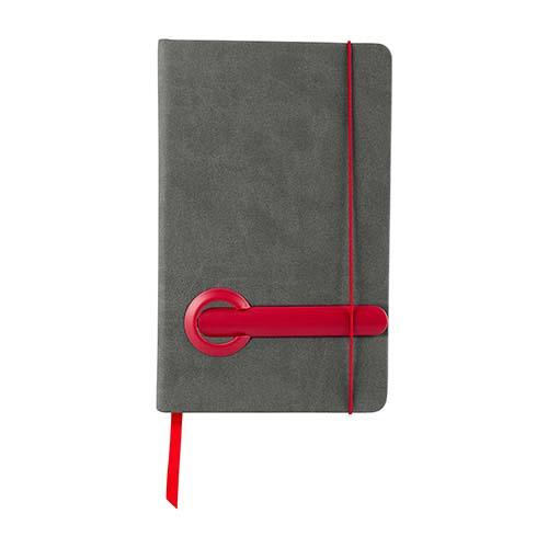 HL 2080 R libreta suazi color rojo 3