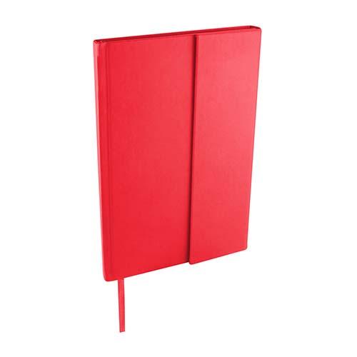 HL 2100 R libreta bok color rojo 1