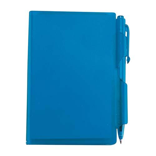 HL 2720 A block de notas con boligrafo azul 1