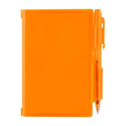 HL 2720 O block de notas con boligrafo naranja
